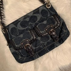 Coach Bags - Coach Poppy Signature Shoulder bag